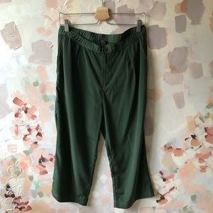 J.Crew Cropped Silky Pants